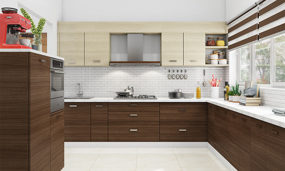 Minimal kitchen plywood design for your home
