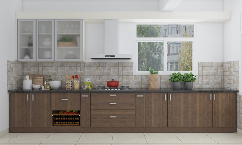 Simple kitchen plywood design for your home