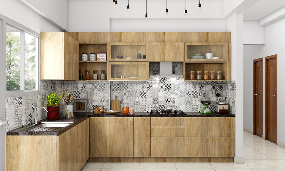 Space saving kitchen plywood design for your home