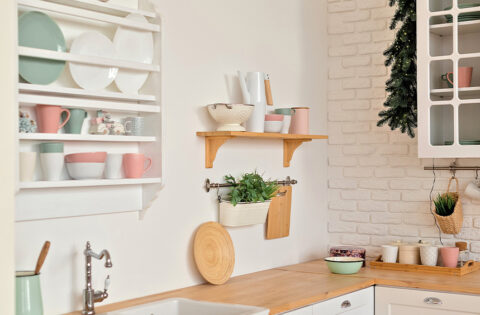 kitchen corner shelf design for your home