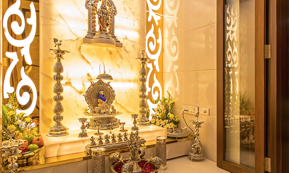 Pooja room light ideas for your home