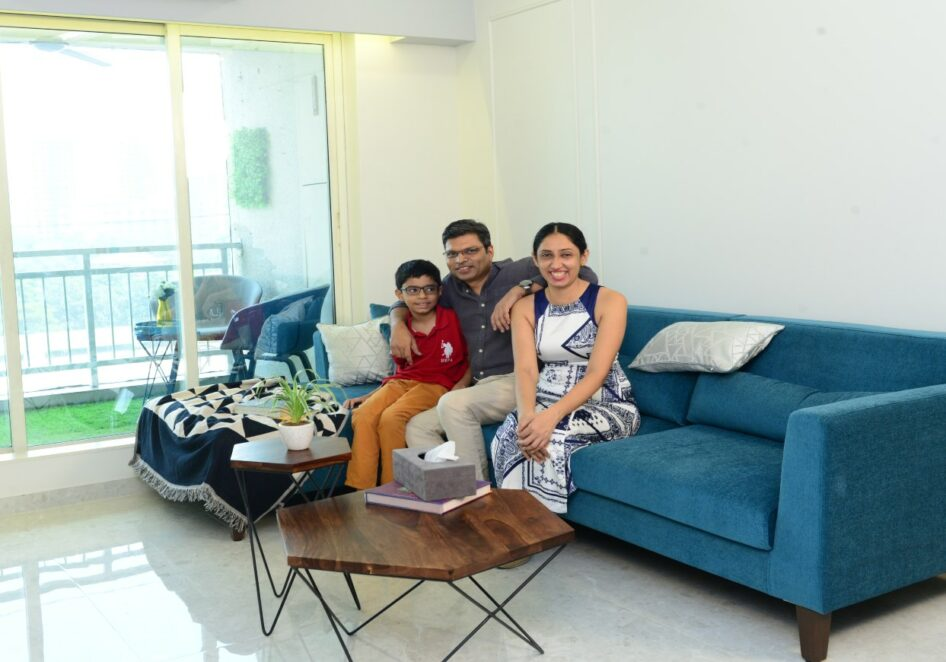 Mr and Mrs Dey's 2bhk Home In Mumbai