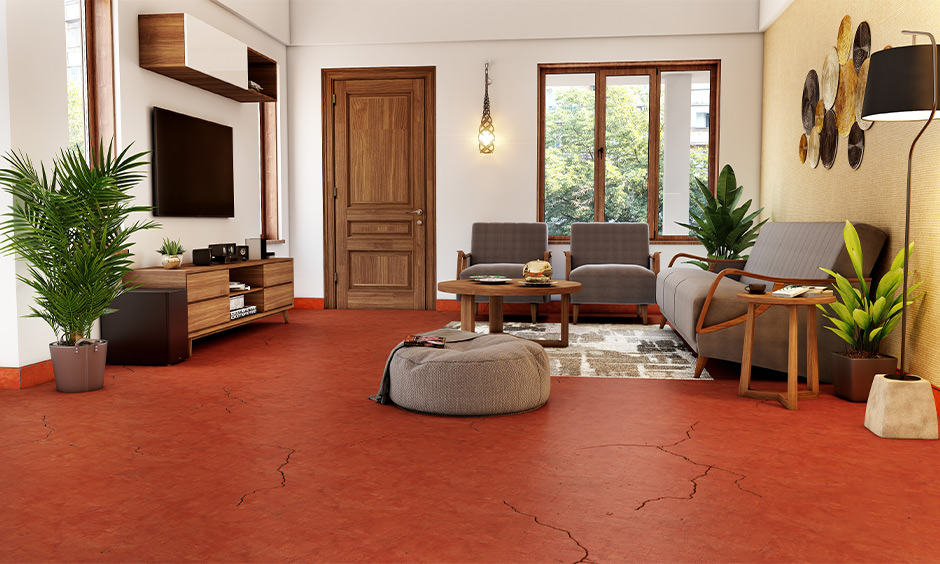 Disadvantages of red oxide flooring