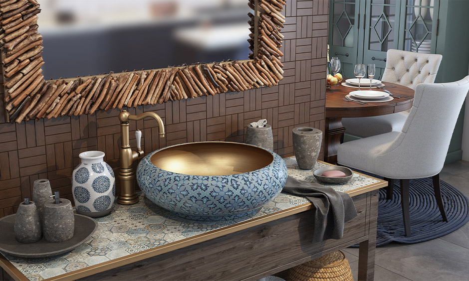 Wash Basin Designs For Dining Room | Design Cafe