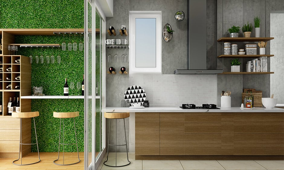 Kitchen door glass design for your home