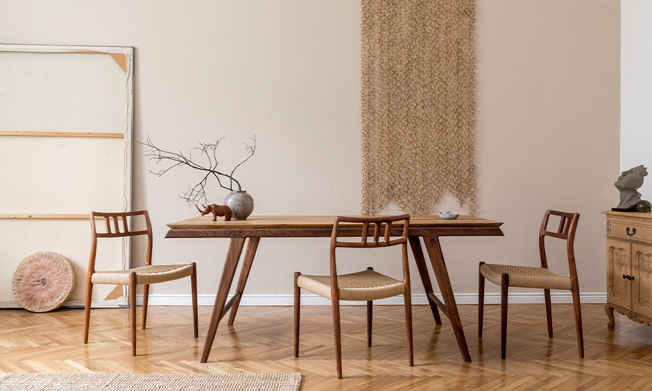 Bamboo dining room chairs handcrafted that long-lasting and look elegant.