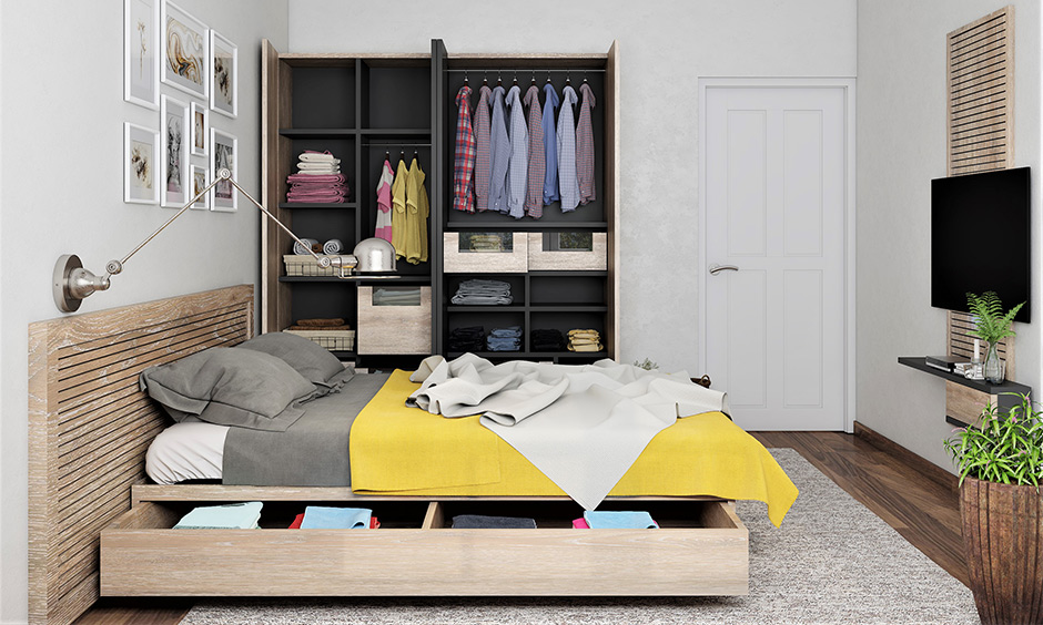 Wardrobe direction as per vastu which should be clean and organised at all times