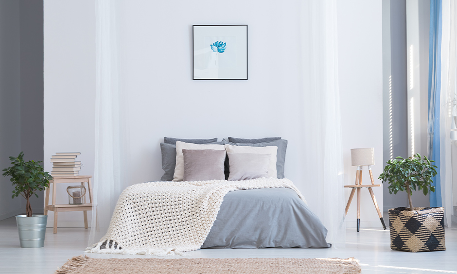 White-and-grey-light-colour-two-colour-combination-for-bedroom-walls
