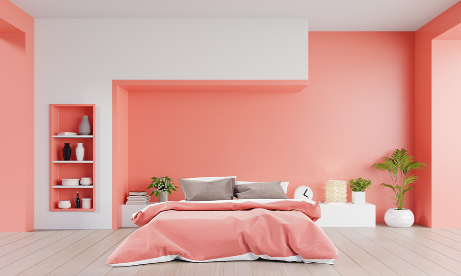 Light Colour Two Colour Combination For Bedroom Walls Design Cafe