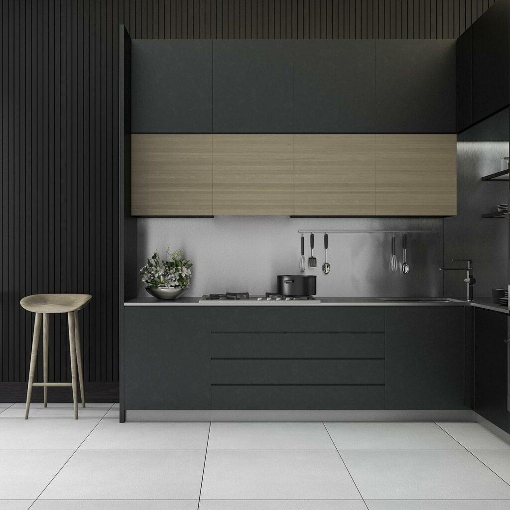 kitchen colour combination idea with black paint with kitchen colour schemes 10 of the best