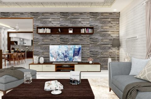 Beautiful interior stone wall cladding for your home.