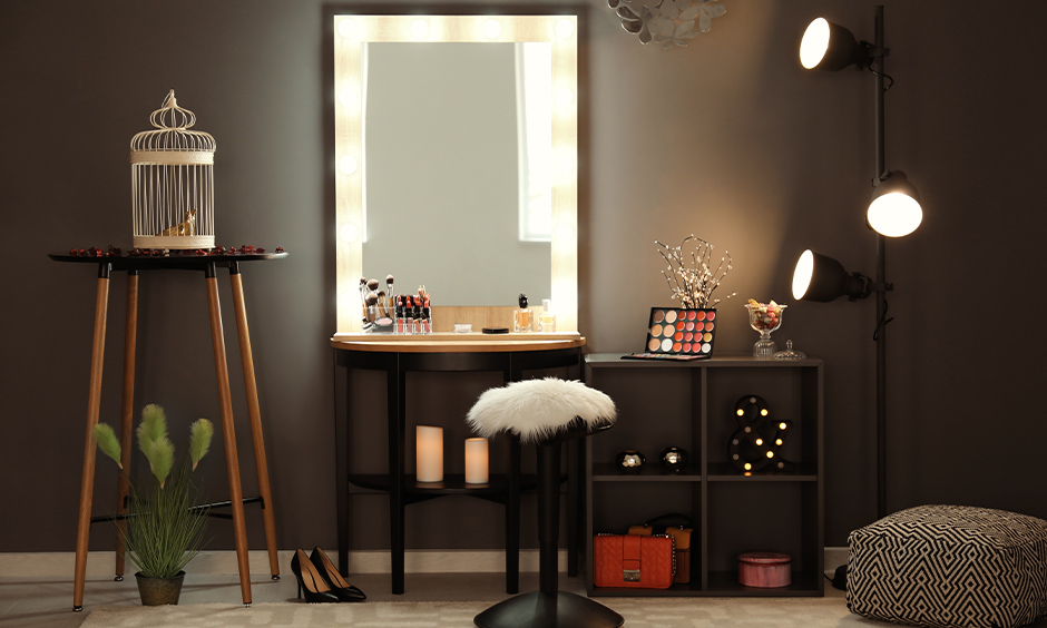 dressing table with lighting ideas for your home