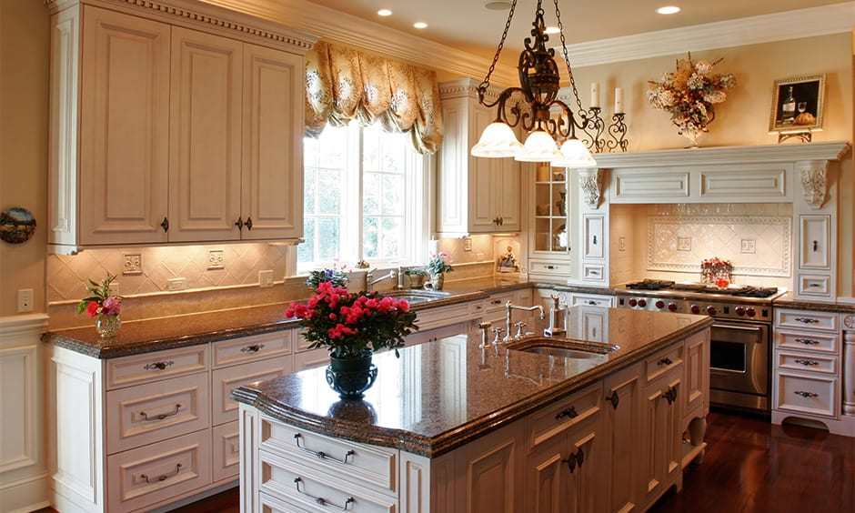 Kitchen granite countertops colors for your home