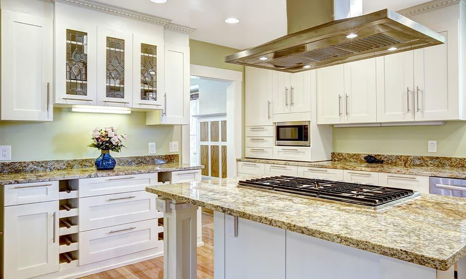 Moon granite stone for kitchen countertops colors