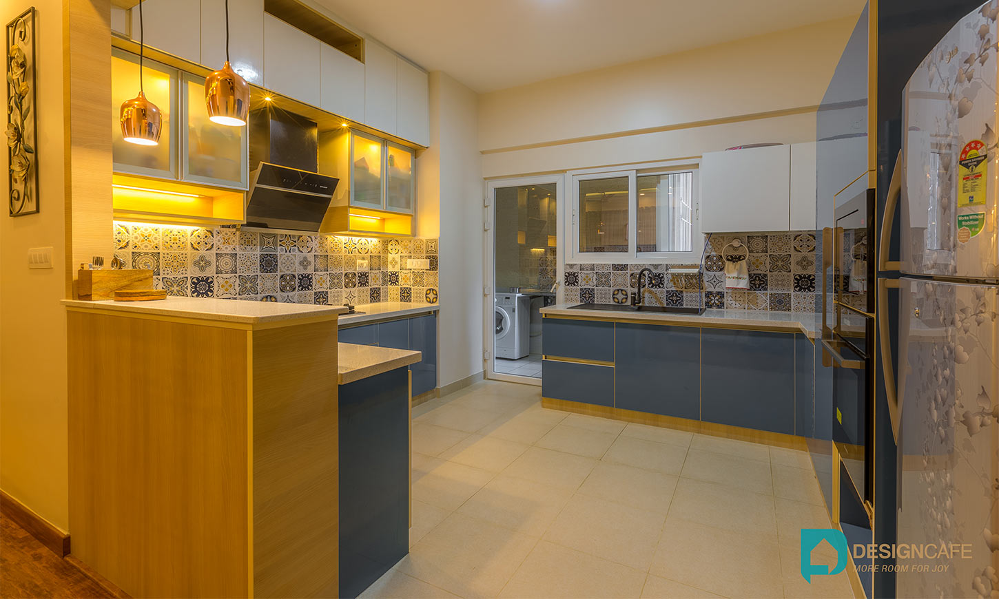 Fantastic modular kitchen designed which is one of the best home interiors bangalore