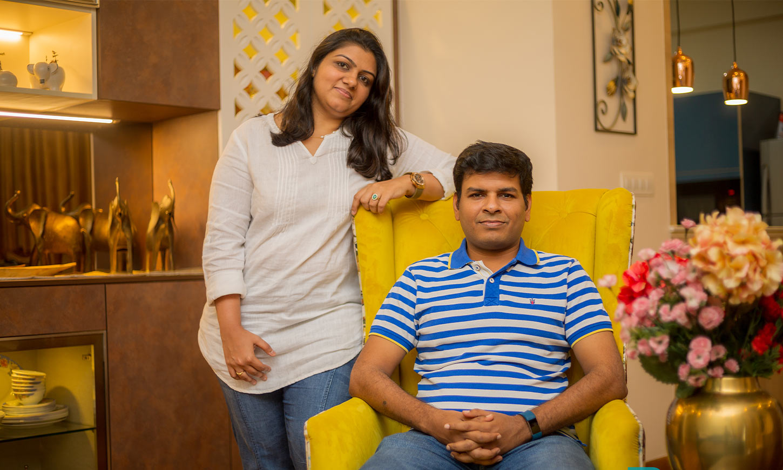 Home interior designed by best interior design in bangalore