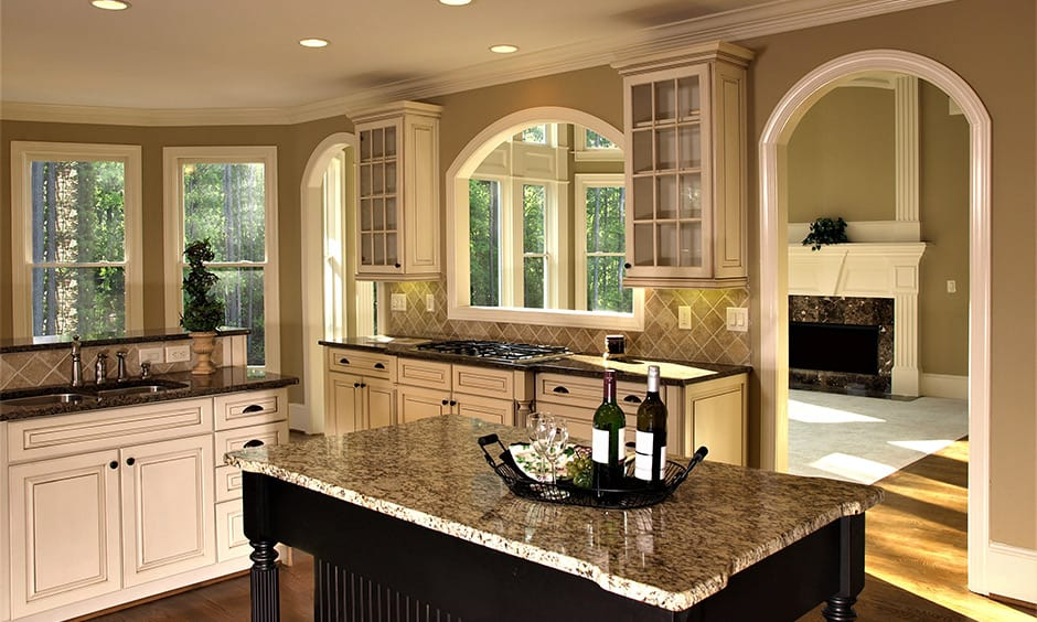 Modern arch design for kitchen gives clean and elegant vibe in your kitchen