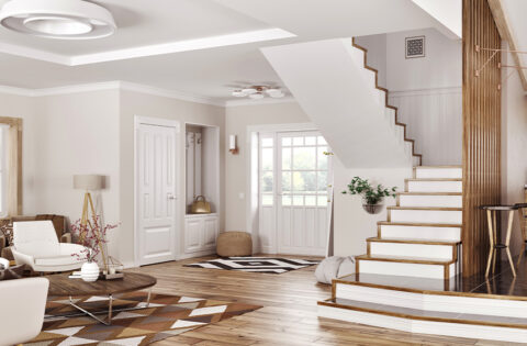 Staircase colour ideas for your home
