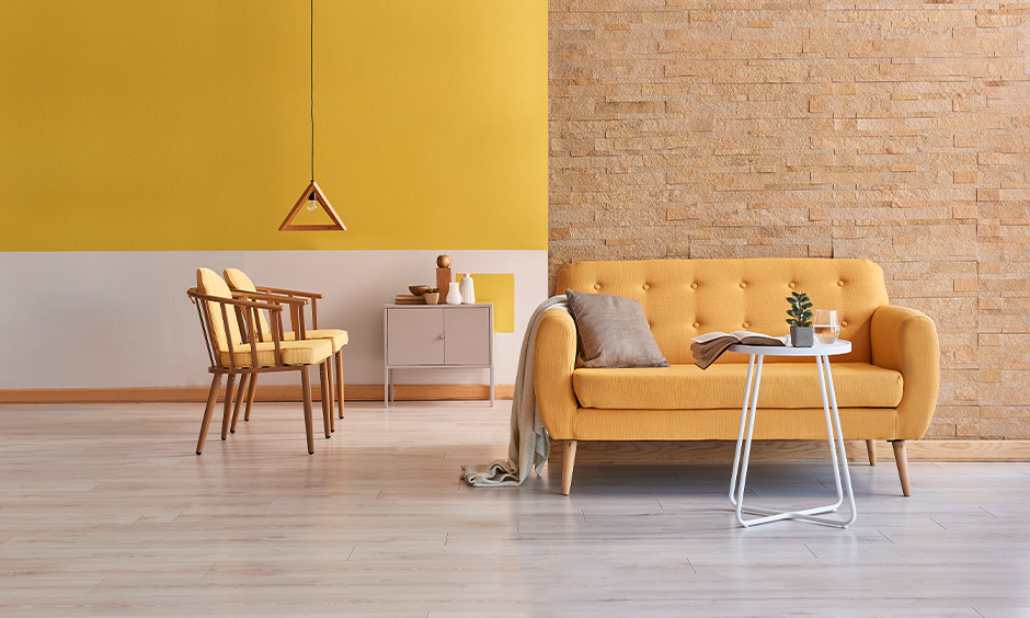 Choose the right curtains for yellow walls in your home interior