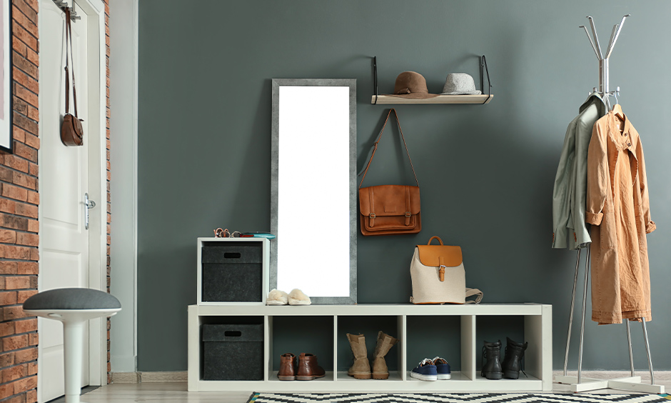 Hallway paint ideas which takes inspiration from natural textures