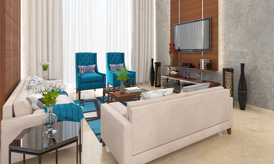 Bright neutral paint colors for living room with fresh pops of colour look aesthetic.