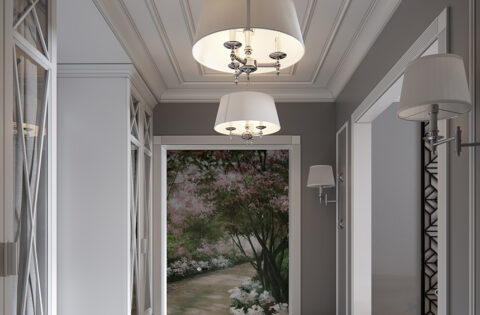 Beautiful decorative lights for hall