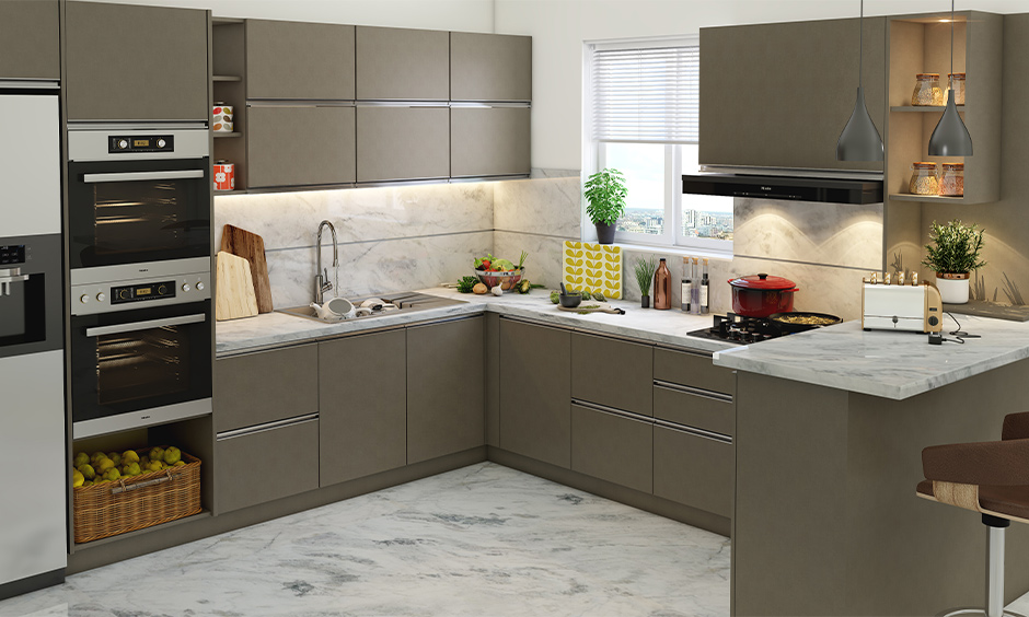 Indian marble is commonly used as a flooring material, for kitchen countertops, bathroom vanity and flooring