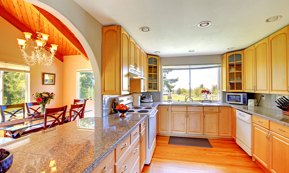 Open kitchen arch design for your home creates the perfect room for improvisation