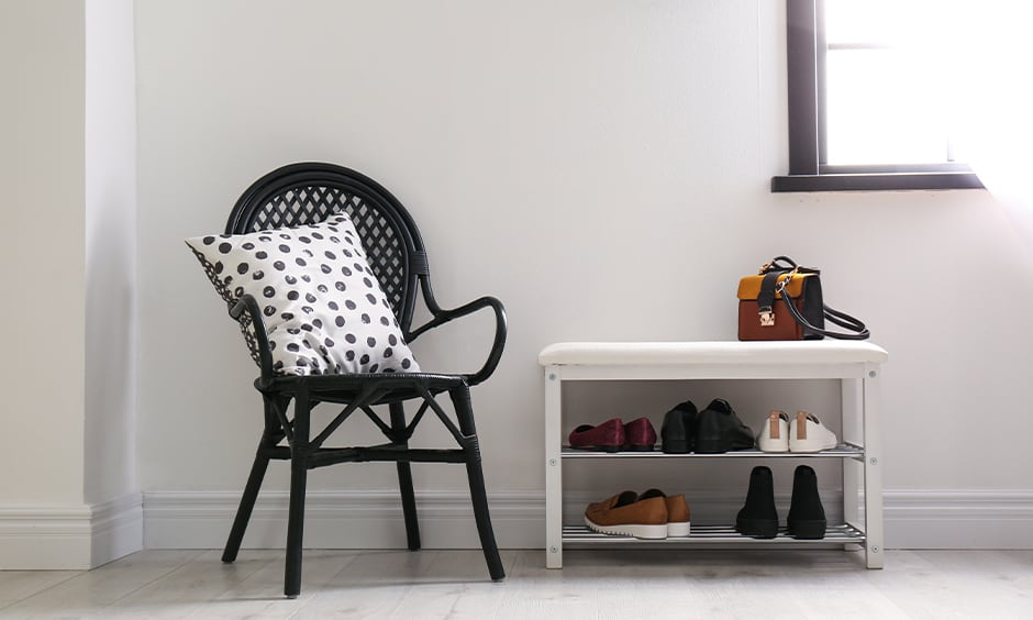 Wooden shoe rack design for your home