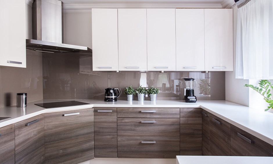 East as per Vastu direction of kitchen in semi-circular shape brings good luck.