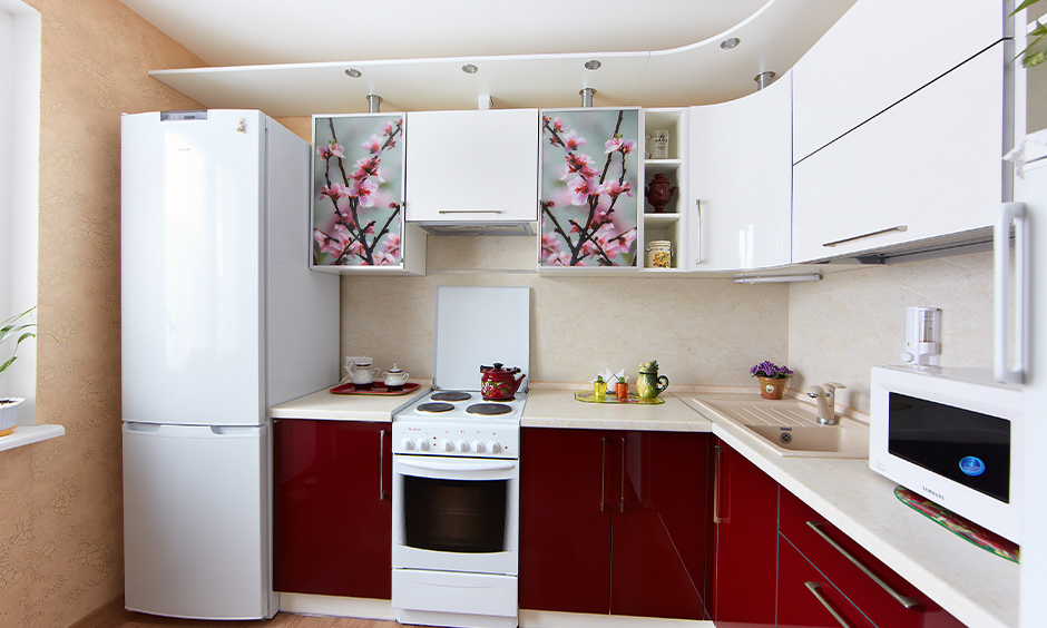 East direction l shaped kitchen direction in the house as per Vastu.