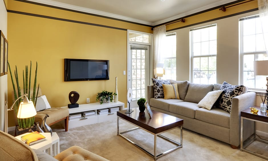 Wall Painting Ideas For Living Room, Paint Ideas For Living Room