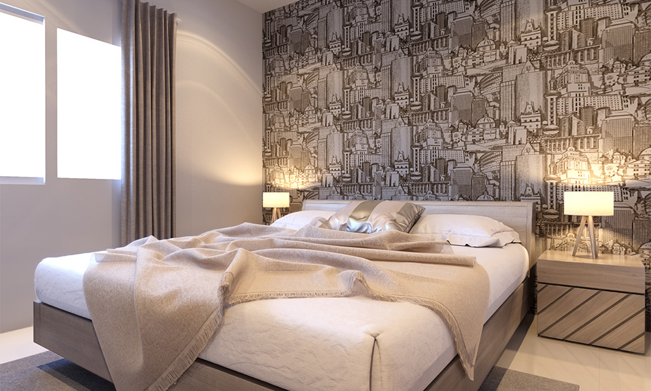 Grey and white bedroom ideas which adds a wow factor to the space