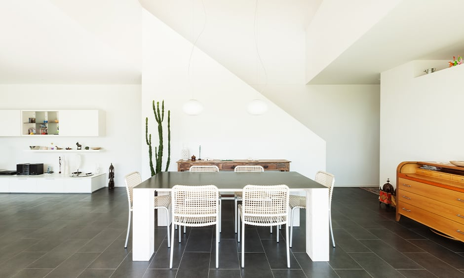 Benefits of black floor tiles for your home