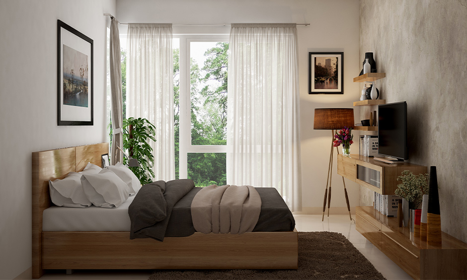 Bedroom Vastu for couples indoor plants placed in the north direction brings positive energy.