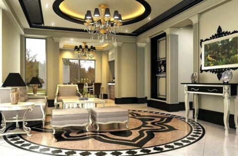 False ceiling pop design for drawing room