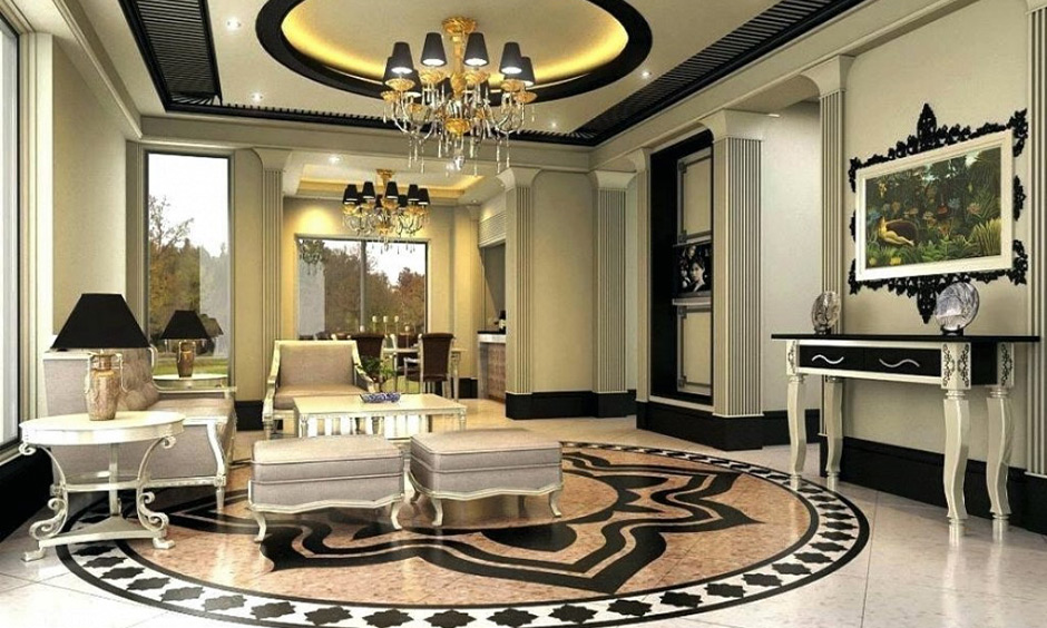 False ceiling pop design for drawing room