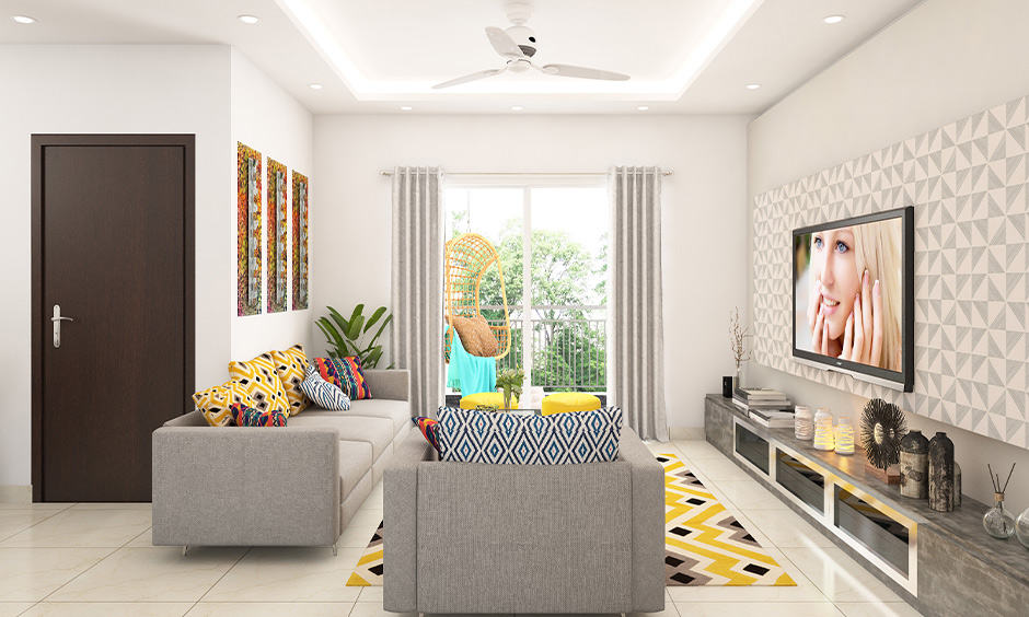 False ceiling light types for your home