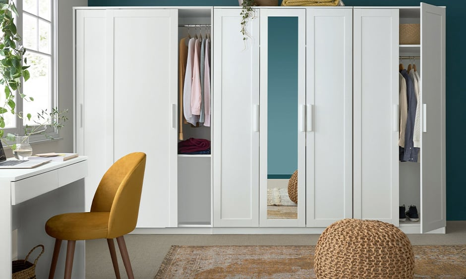 White bedroom cupboard designs for your home