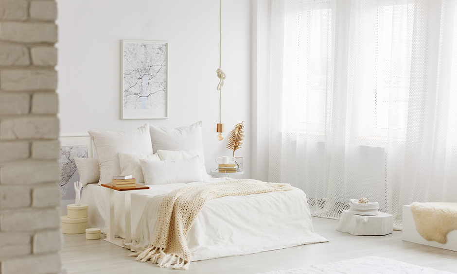 9 bright white bedroom curtains ideas for your home