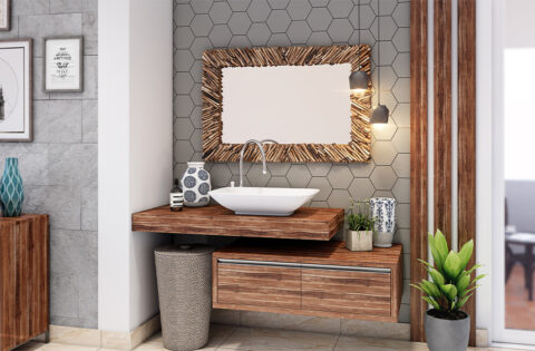 Gorgeous wash basin colour designs for your home