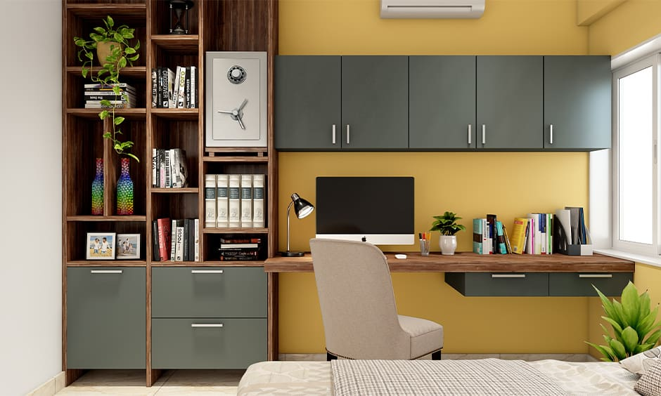Check the shape, material and colour as per vastu for locker in house