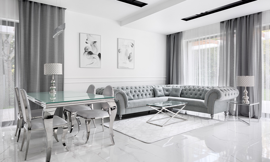 White marble flooring design ideas for your home