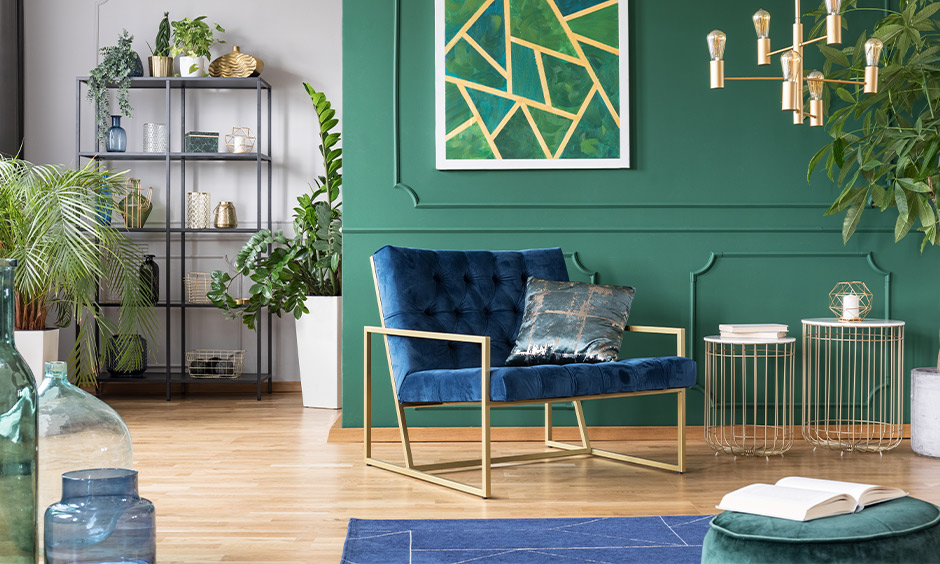 Analogous color scheme painting for your home
