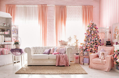 Pink living room ideas for your home