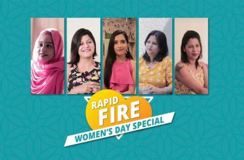 Women's history month- rapid fire