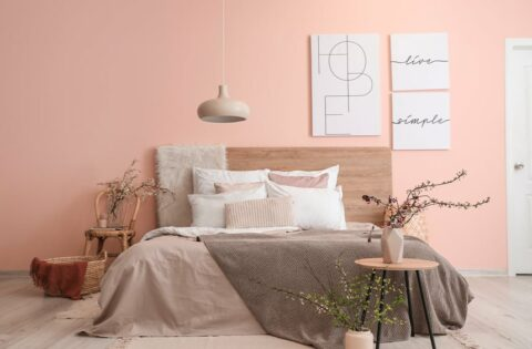 Romantic bedroom colours for couples