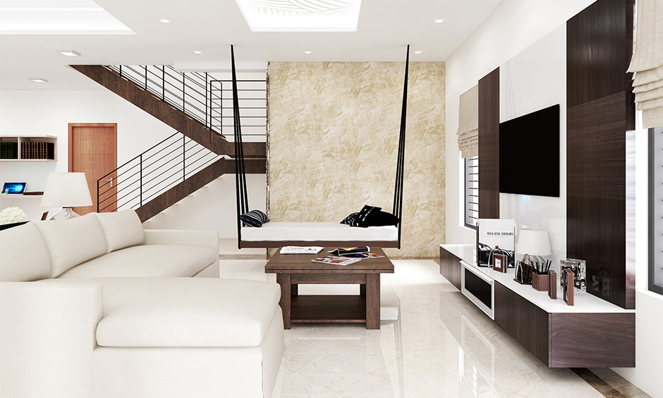 Chic white floor tiles for your home