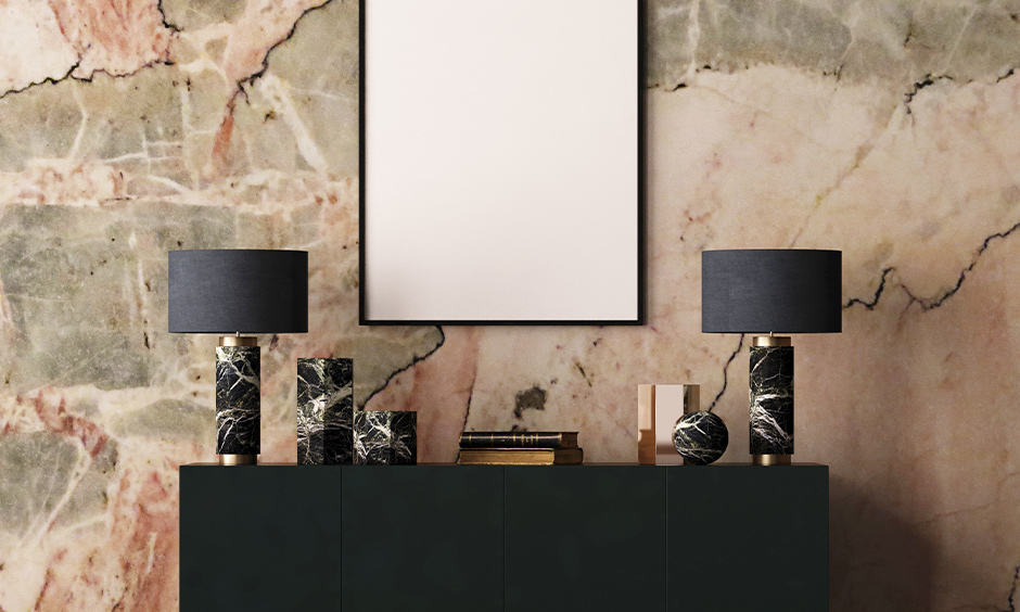 Art deco interior design for the bedroom