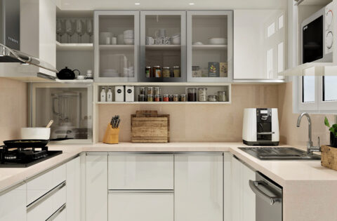 Stainless steel kitchen cabinets for your home